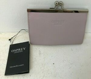 Ladies Lilac Leather Osprey Clasp Purse - NEW RRP £55.00  C28