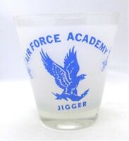 Air Force Academy 10 oz JIGGER Large Humorous Barware Army Navy Marines Coast