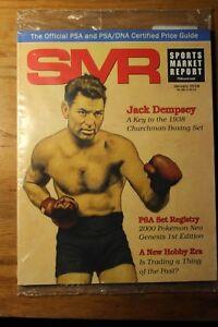 PSA SMR Sports Market Report January 2018 Jack Dempsey  Vol#282   MIP