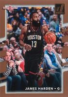James Harden 2017-18 NBA Panini Donruss Basketball Base Card #51 Houston Rockets
