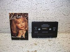 LeAnn Rimes How Do I Live Dance Mix Cassette Single