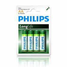 Philips 4 PACK AA SIZE BATTERIES R6 MIGNON  1.5V Battery
