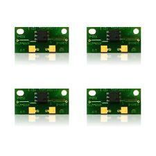 4 x Toner Chip for Konica Minolta Bizhub C451 C550 C650  TN411/TN611K / TN611CMY