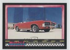 1991 Performance Years Muscle Cards #62 1970 Cougar XR-7 Convertible 428 CJ 3a3
