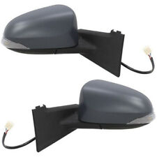 TOYOTA YARIS 2011-2017 DOOR WING MIRROR ELECTRIC 1 X PAIR NEAR SIDE & OFF SIDE