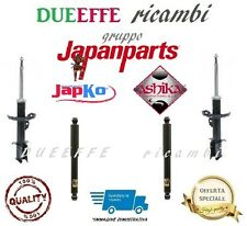 Set 4 Shock Absorbers JAPANPARTS Renault Clio III By 2005 IN Then