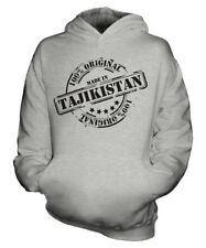 MADE IN TAJIKISTAN UNISEX KIDS HOODIE BOYS GIRLS CHILDREN TODDLER GIFT CHRISTMAS