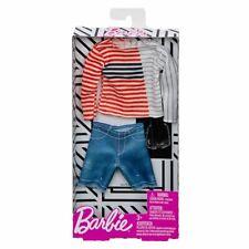 Barbie, Ken Fashionistas Clothes, Outfit, Stripe Boatneck Shirt Fashion, FXJ35