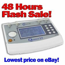 Quattro 2.5 Professional Electrotherapy Device TENS EMS Roscoe Medical