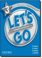 Oxford Let's Go Level 3 Audio Compact Discs CDs Third 3rd Edition