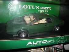 1:18 Autoart Lotus Esprit Type 79 green/grün in OVP