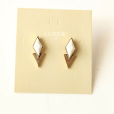 New Jcrew Resin Geometric Stud Earrings Gift Fashion Women Party Holiday Jewelry