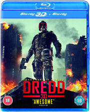 Dredd 3D+2D Blu-Ray NEW BLU-RAY (EBR5188)