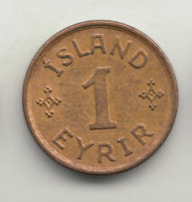 ICELAND 1 EYRIR 1931 COPPER EF+          86D      BY COINMOUNTAIN