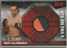 Rory MacDonald 2013 Topps UFC Knockout Fight Mat Relics Card # FMRRM 018/188