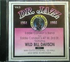 CD EDDIE Banda de CONDON - Dr. Jazz Series vol. 5, Storyville