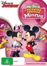 Mickey Mouse Clubhouse: A Valentine Surprise For Minnie NEW R4 DVD
