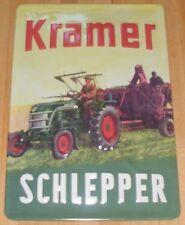 KRAMER TRAKTOR SCHLEPPER, BLECHSCHILD, NEU