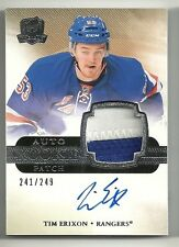 2011-12 Upper Deck The Cup Rookie Patch Autograph #158 TIM ERIXON  #241 of 249
