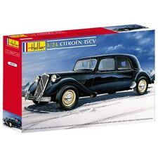 Heller Citroen 15CV 15 CV Traction 15 six FRANCIA MODELLO KIT 1:24 NUOVO KIT