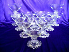 "12 Candlewick Boopie 3.5"" Champagne Sherbert Glasses Excellent  Anchor Hocking"