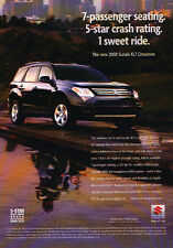 2008 Suzuki XL7 - Crash - Classic Vintage Advertisement Ad D94