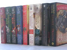 Temeraire Novels by Naomi Novik (Complete 9-Book Series Set, Mass Market PB)