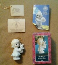 "Precious Moments  #529648 ~ MIB ~ Ornament  ""THE MAGIC STARTS WITH YOU"" 1992"