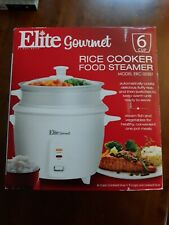 ELITE GOURMET RICE COOKER & FOOD STEAMER #ERC-003ST BRAND NEW FREE SHIPPING
