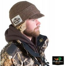 RIG'EM RIGHT WATERFOWL HEAVY WEIGHT BILLED KNIT BEANIE SKULL CAP HAT TIMBER