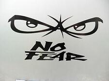No Fear Eyes Vinilo calcomanía Para Coches De Interior Vw T4 T5 divertido Etiqueta Código 5250 Negro