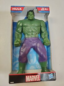 "Marvel Comics Hulk Action Figure 9"" By Hasbro New In Box Avengers Bruce Banner"