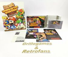 "Super Nintendo "" Super Mario RPG Legend of the Seven Stars + Guide "" Snes | Ovp"