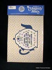 Millie's Shapely Mats Teapot Shape w/Cross Stitch Pattern #58017 Sealed