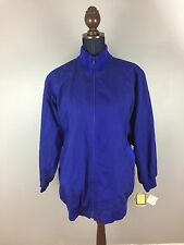 Vtg Coat Cathrine Hall Winter Jacket Water Repellent Parka Women's Blue Large AQ