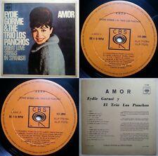 EYDIE GORME TRIO LOS PANCHOS AMOR 1970 MONO SPANISH SUNG UNIQ CVR CHILEAN PRESS!