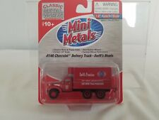 Mini Metals 41/46 Chevrolet Delivery Truck Swift's Meats #30275