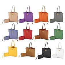 Joy Mangano Handbag Genuine Leather Smart Bag With Rfid Protected Clutch