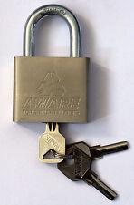 60mm Padlock Waterproof Outdoor 3 keys gate shed garage security lock Heavy Duty