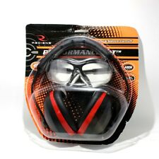 Radians Performance Kit With Silencer Ear Muff Revelation Shooting, Clear Lens