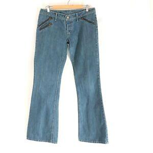 Levi's Vintage Jeans 571 Low Rise 90s Australia Rare Gold Patch 32/34 Fit Sz 10