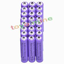 24x AAA 1800mAH 1.2V NiMH Rechargeable Battery Recharge