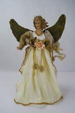 """15.5"""" Angel Tabletop Centerpiece on Base Porcelain"""