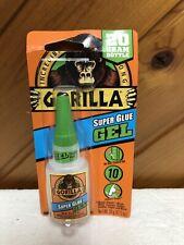 Gorilla 7700104 Super Glue Gel .71oz Brand New