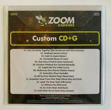 More details for zoom karaoke cd+g disc - pop chart picks 2021 (part 2) - 15 big pop hits!
