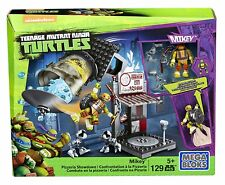 Mega Bloks Teenage Mutant Ninja Turtles Mikey Pizzeria Showdown Building Set A40
