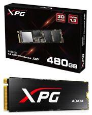 ADATA XPG SX8200 PCIe NVMe Gen3x4 M.2 2280 480GB SSD With Black XPG Heatsink SSD