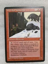 Grizzled Wolverine - Summon Wolverine Card - MTG (Magic the Gathering) Ice Age