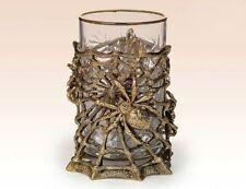 Spider Russian Tea Glass Cup Holder Podstakannik Brass