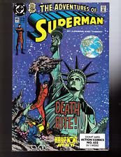 Adventures of Superman #464,465,466 1st Hank Henshaw Cyborg Superman Lobo App.